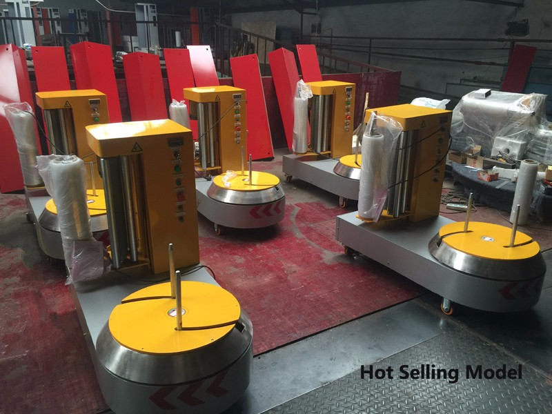 Shandong directly supply Using widen luggage wrapping machine packaging machine with the best price