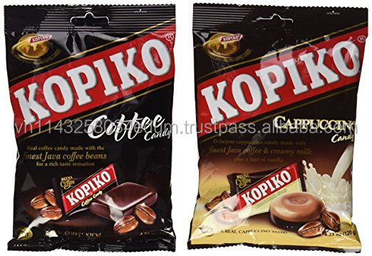 [THQ VIETNAM] Kopiko Candy Variety Pack (Coffee and Cappuccino)