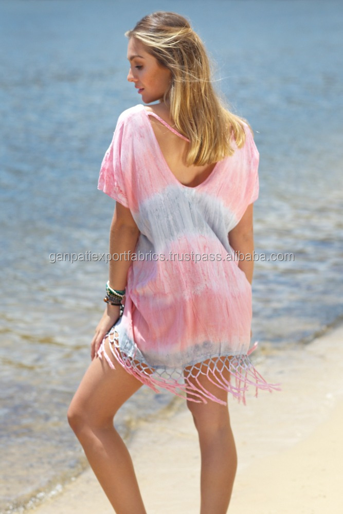 Hot Summer's Exclusive Beachwear Swimwear Tunics / Beach Cover Up Online