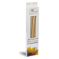 All Natural Beeswax Candle, 2 Pack by Wallys Natural Products