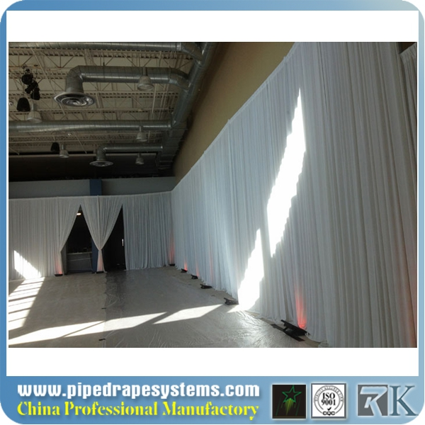 drape and pole systems,pipe and drape poles,white pipe and drape panels