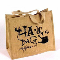 Jute bag/ eco friendly bag/ canvas bag jute shopping bag foldable shopping bag