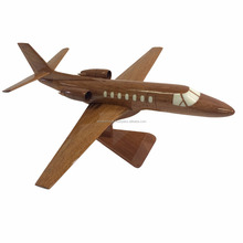 CESSNA AIRPLANE HANDMADE - WOODEN DESKTOP MODEL