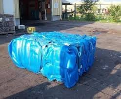 Recycled HDPE Blue Drum Scraps READY SHIPMENTS AVAILABLE