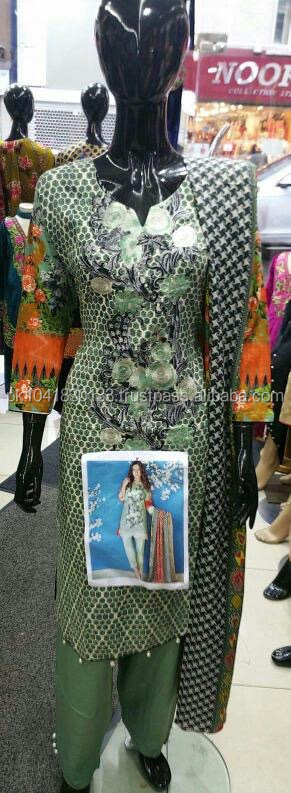 Famous branded lawn dresses