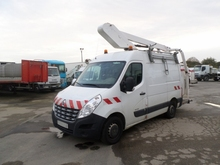 Renault master 125.35 year 2012 with work platform 11 meters