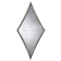 Square Kite Designer Metal Mirror Frame