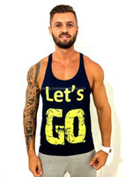 Wholesale New Style 100% Cotton Low Price Mens Workout Singlets