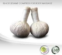 Black Sesame Massage Compress : High Quality, Certified Organic