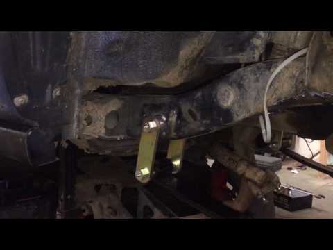 Trooper Solid Axle with Toyota axle Part 2 of 4