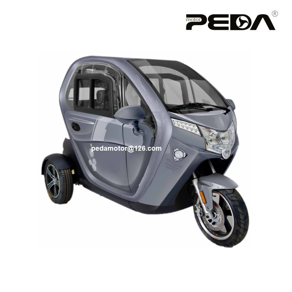 2017 New Design EEC Euro 4 Approval 1000w 2000W Power Adult 3 Wheel Electric Tricycle