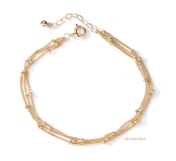 14K Gold Filled Hermion Bracelet