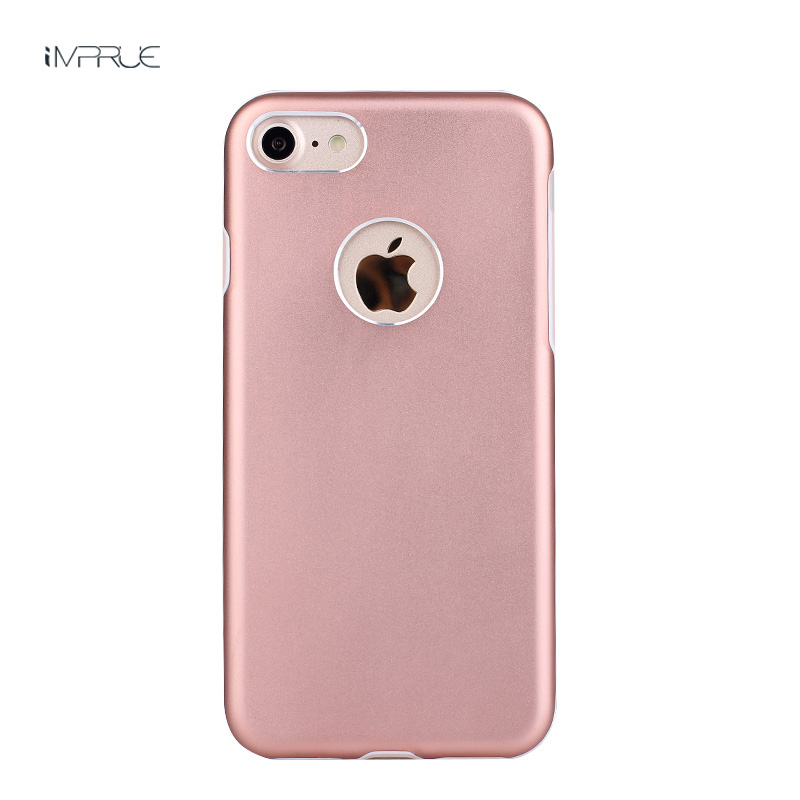 New arrival Glossy phone cover TPU Plastic soft protective phone case for iphone7/for iphone7plus