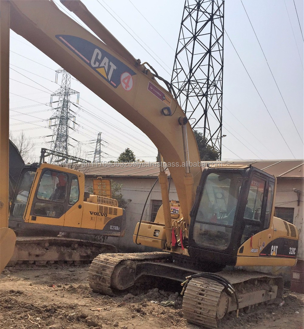 used CAT excavator 320c almost new product at best price