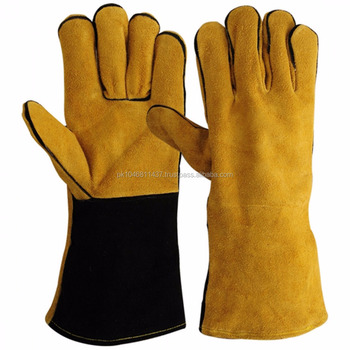 welding Gloves Made of Premium Cowhide Leather