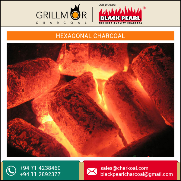 Wholesale Supplier of Hexagonal Charcoal for Flavorful Food