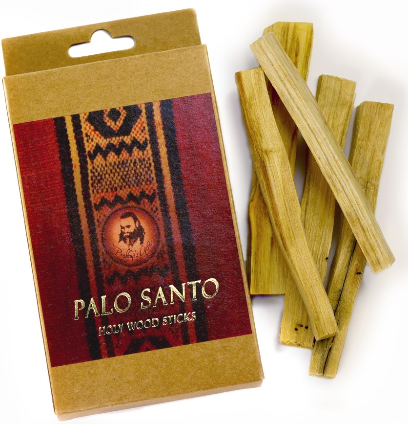 Palo Santo Wood Incense - 5 Sticks - Export from NY, USA - FREE Samples - No minimum order - Made by Yogis