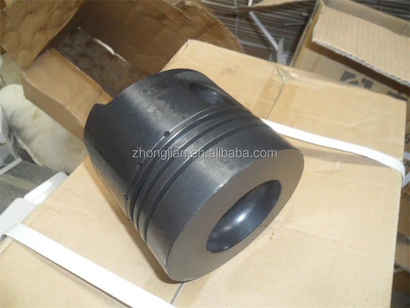 diesel engine parts ZS1115 black cylinder liner and piston