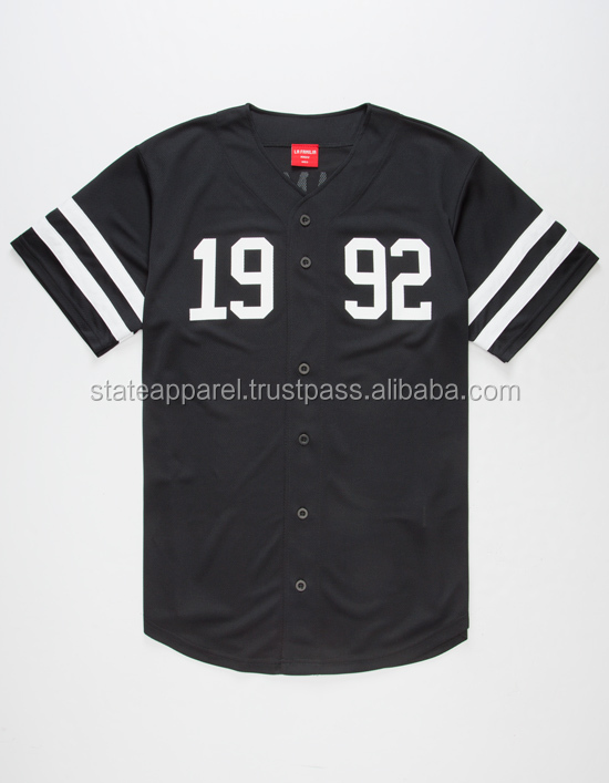 1992 baseball embroidery jersey custom wear, custom made embroidery baseball jersey for football player/ AT STATE APPAREL