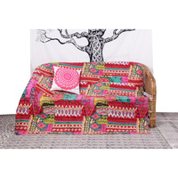 Buy Indian 2 Pillow double alteration bed sheet set in China on ...