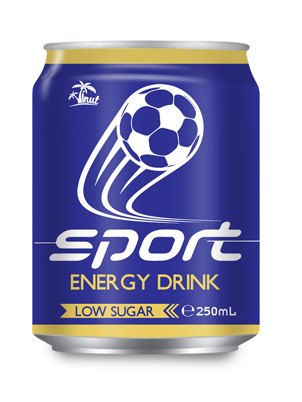 250ml Short can Sport Energy Drink