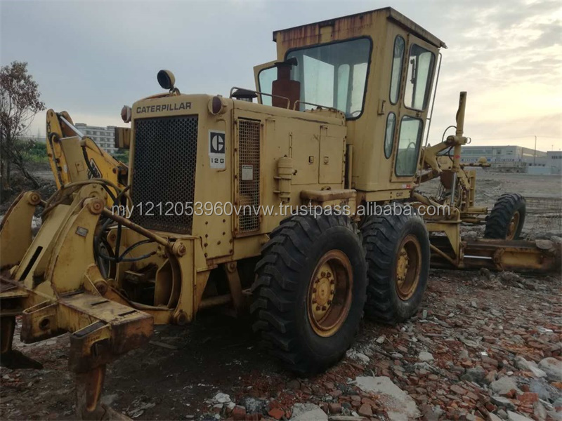 all original CAT 12G motor grader hot sale