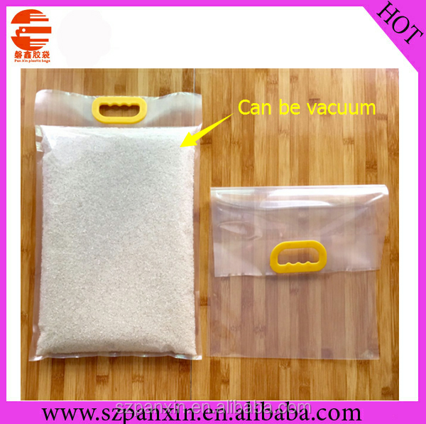 Custom Printed Plastic Packing Bag For 10kg Rice