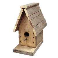 Hanging Bird House, Wooden Bird House, Decorative Bird House