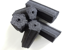 Charcoal Briquettes Hexagonal