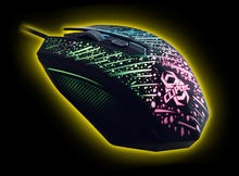 METEOR 2400dpi Illuminated Gaming Mouse - Retail Pack