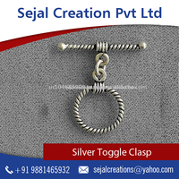 New Arrival Silver Toggle Clasps,Jewellery Making Supplies from Top Ranked Supplier