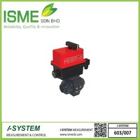 VE2V S4-PVC, Electrically actuated 2-way ball valves
