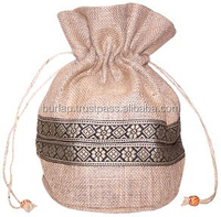 reusable jute pouches for baby food