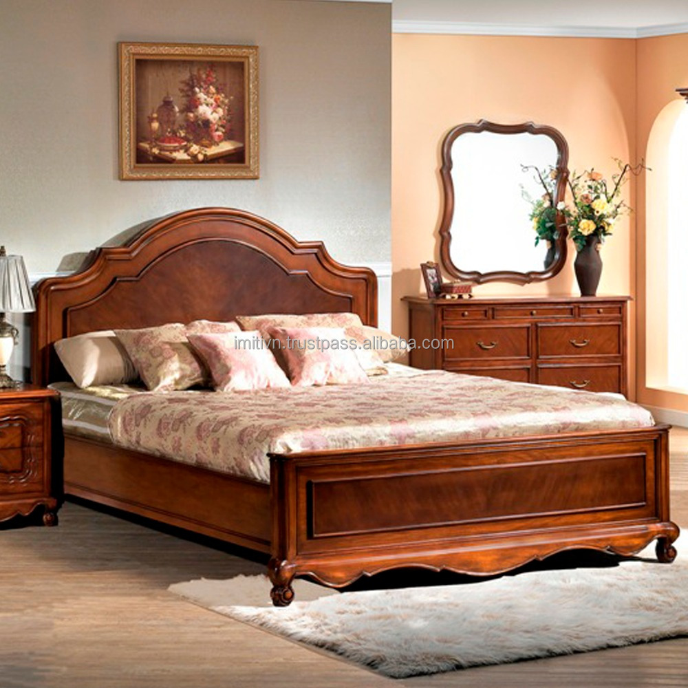 korean bedroom furniture pictures of wood double bed