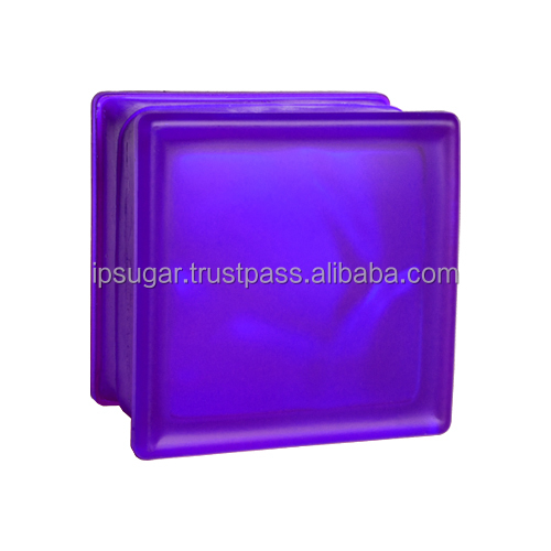 Koong's Customized Color Glass Block Any color&Any tone (Wave 145*145*80)