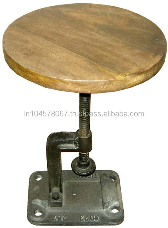 Rustic Top Stool