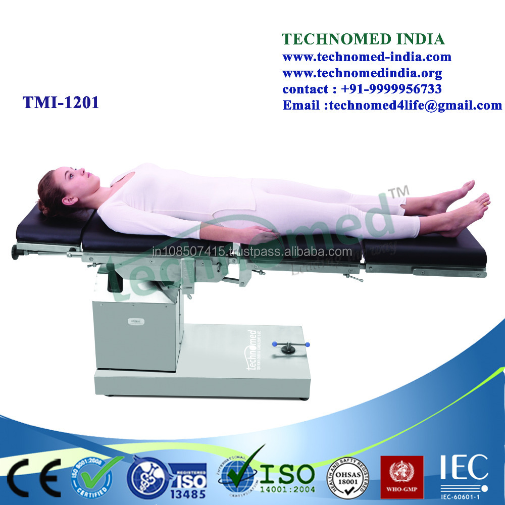 TMI-1201 X-rays Used Health and Medical Bed/Medical Equipment/Electric Surgical Table