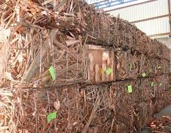 No.1 Copper Wire Scrap with 99.99% purity / Red Scrap Copper Wire / milberry copper