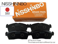 High performance stable brake pads , auto spare parts car also available