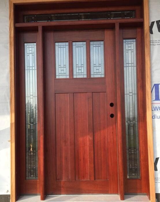 Forest Bright Residential Exterior Entry Doors With
