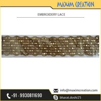 Best Quality Material Made Fancy Jari Lace for Dupatta Available at Bulk Price