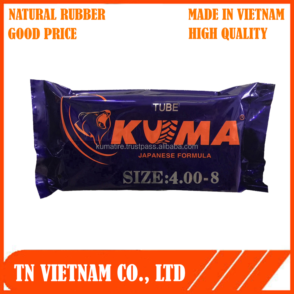 For three wheel & wheel barrow 4.00-8 inner tube - made in vietnam High Quality - Best Price