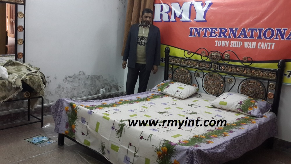 Pakistani RMY 053 high quality bed sheets designs in pakistan