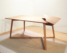 90 Degree Solid Balau Wooden Table