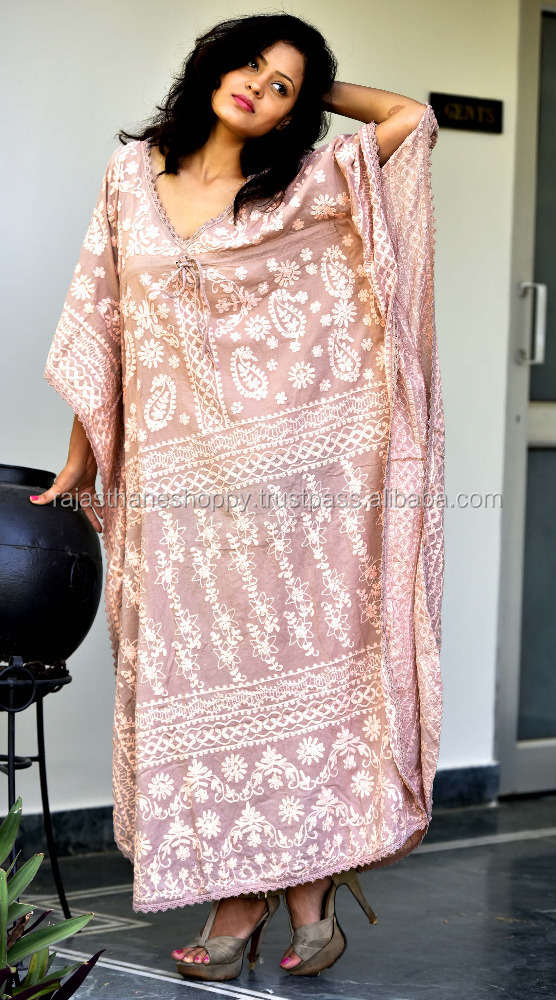 New Boho Kaftan Caftan Women's Cocktail Summer Beach Maxi Long Dress Plus Size