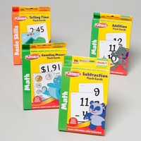 PLAYSKOOL MATH LEARNING CARDS 36CT ADDITION/SUBRACTION IN PDQ #11504