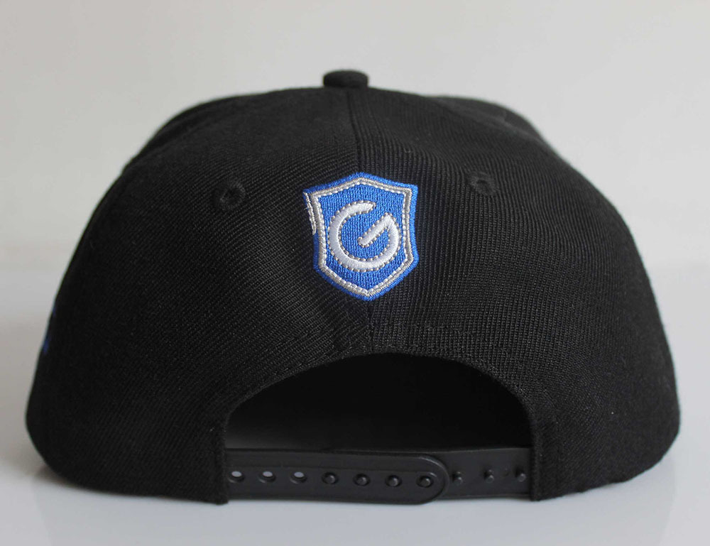 cool custom design snapback hats with 3d embroidery logo