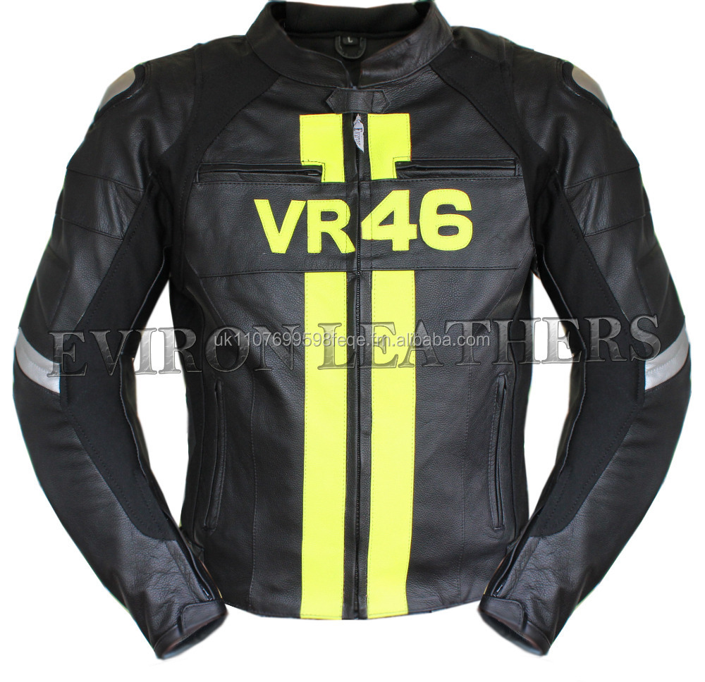 Replica Motorbike Protective Leather Jacket