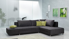 Corner sofa bed with storage SPLIT