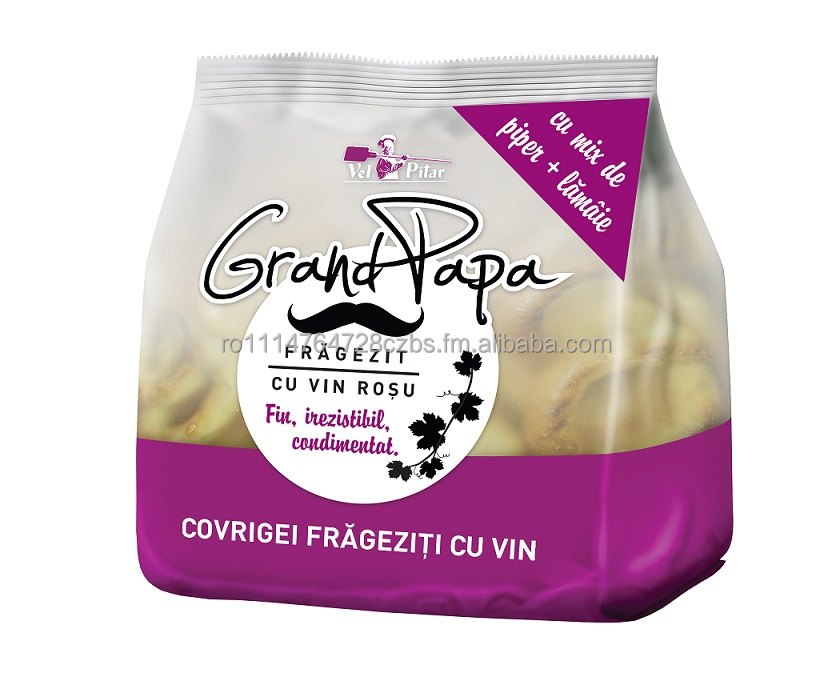 Grand Papa Pretzels refined with red wine